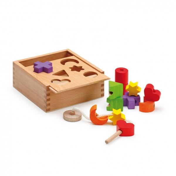 Steck- und Fädelbox