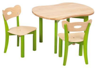 tisch und stuhlset 1 st hle tische m bel sommer kinderm bel. Black Bedroom Furniture Sets. Home Design Ideas