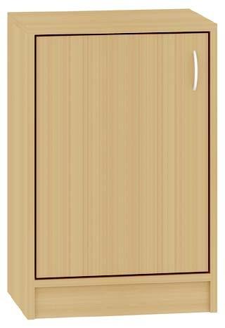 Schrank mit einer Türe