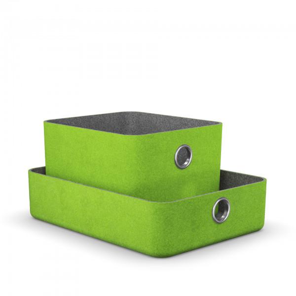 Moll Basket Aufbewahrungsbox grün