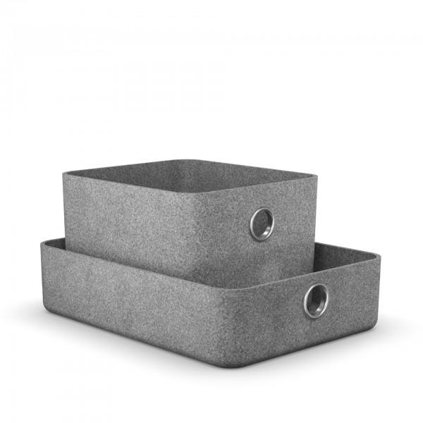 Moll Basket Aufbewahrungsbox grau