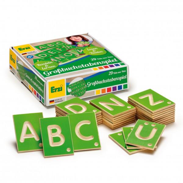 Lernspiel Grossbuchstaben