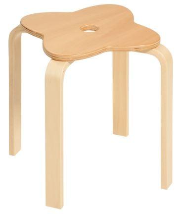 Sitzhocker Kleeblatt
