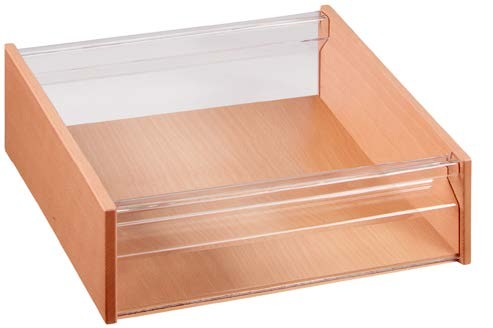 Materialkasten mit Acryl-Sichtfenster