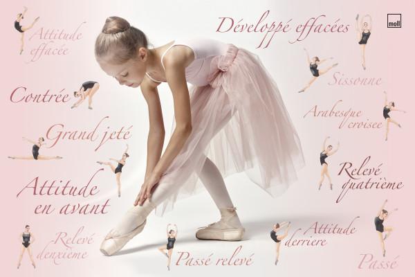Schreibunterlage Moll Ballerina