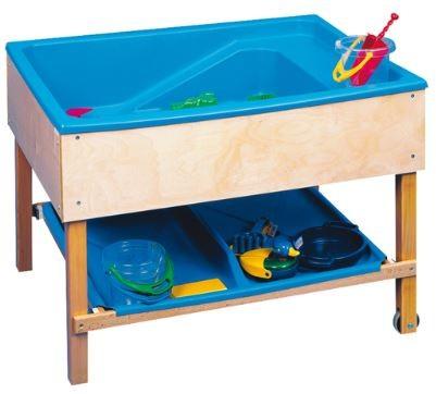 Sand- und Wassertisch fahrbar