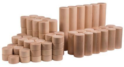 Grosse Bausteine Säulen