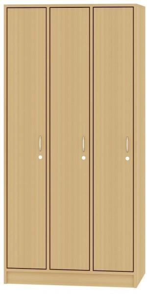 Garderobenschrank dreiteilig