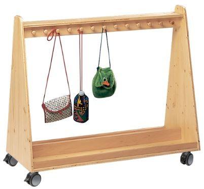 Taschenwagen mit 26 Holzhaken