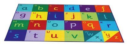 Teppich Alphabet