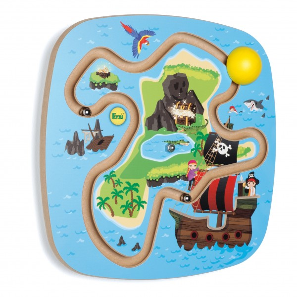 Wandspiel Piratenschatz