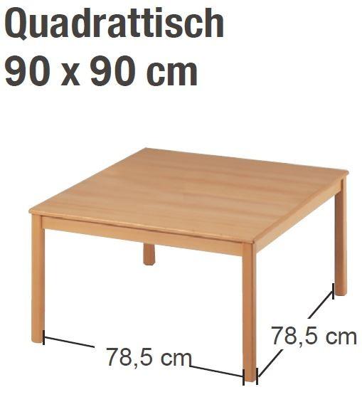 Tisch 90 x 90 cm